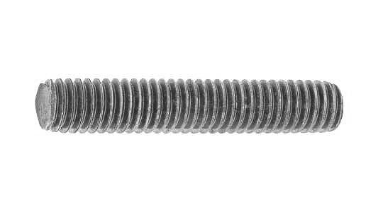 鉄/生地 寸切ボルト (左ねじ・ウィット)W1/2×400 【 お得セット : 10本入り 】