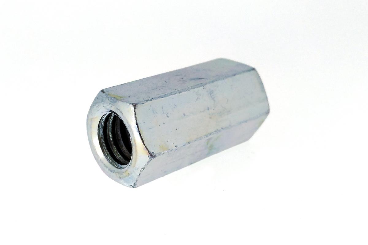 鉄/ユニクロ 高ナット (ウィット)W3/4×80 【 小箱 : 1箱/40本入り 】