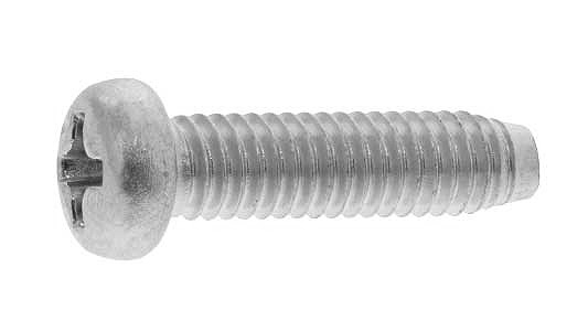 鉄/三価ホワイト (+) ナベタッピング [3種C0形]M2×12 【 小箱 : 1箱/4000本入り 】