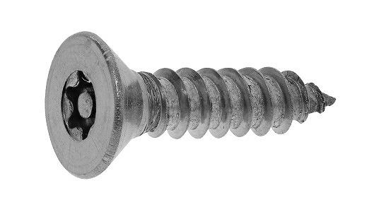 ステンレス/SSブラック (ピン・トルクス) サラタッピング -TRF- [4種AB形]M4.8×25 【 小箱 : 1箱/100本入り 】