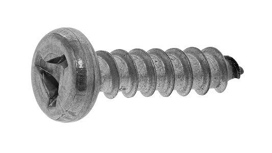ステンレス/SSブラック (トライウィング) ナベタッピング [4種AB形]M4.2×20 【 小箱 : 1箱/100本入り 】