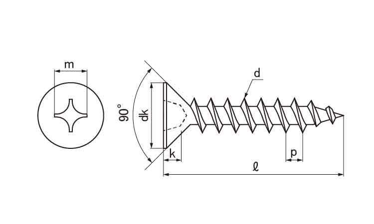 铁/零铬S(+)萨拉轻打[1种A形]M8*40