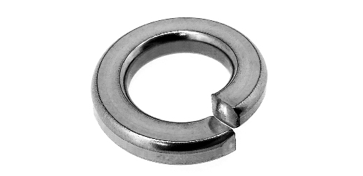 Iron / 3 values white spring washer [heavy load important post] M10