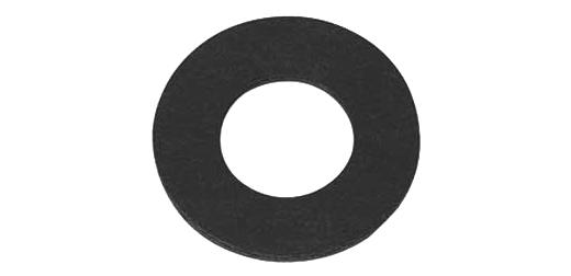 ネコポス対応 お金を節約 格安激安 ファイバー 黒 丸ワッシャーM6 : お得セット 100個入り