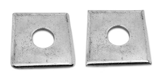 鉄/黒色クロメート 角ワッシャー (大形)M6 【 小箱 : 1箱/400個入り 】