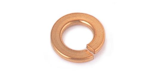 Phosphor bronze / cloth spring washer M6