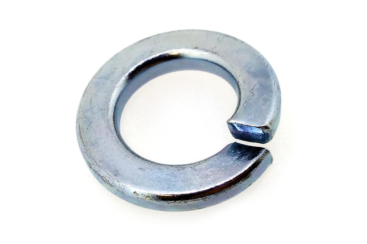 ネコポス対応 鉄 奉呈 ユニクロ スプリングワッシャーM7 お得セット 100個入り : 迅速な対応で商品をお届け致します