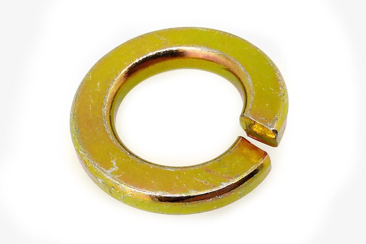 Iron / chromate spring washer M10