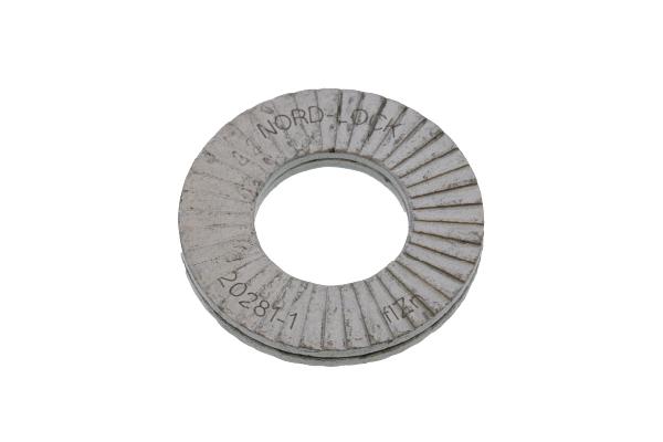 鉄(S25C相当・焼入れ)/デルタプロテクト ノルトロックワッシャー (幅広タイプ)M36 【 小箱 : 1箱/25組入り 】