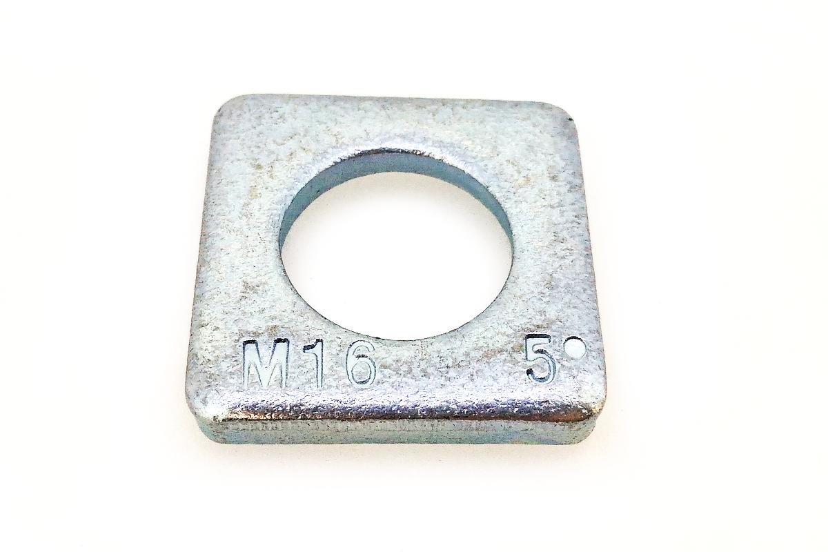 鉄/ユニクロ テーパーワッシャー (傾斜角:5度)M42 【 お得セット : 10個入り 】