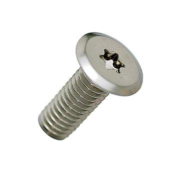 ネコポス配送可能 セール商品 ナンバープレート用ボルト 高額売筋 フラットタイプステンレス 単品売り ボルトのみ シルバー