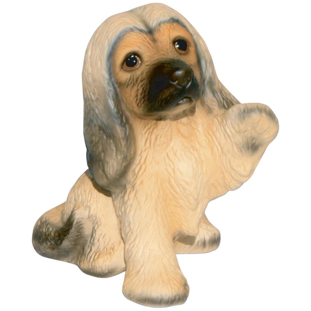 """色んな犬種を集めて楽しい 愛犬家の皆様にお勧めグッズです """"お手""""のポーズと表情が可愛いですよね 瀬戸焼 あす楽対応 ハウンド1 40%OFFの激安セール 超激得SALE 犬の置物 アフガン"""