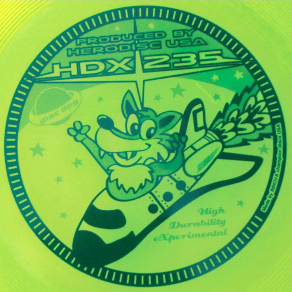 ヒーロー HERO HDX235 フリスビー ディスク 宅配便のみあす楽対応 コンビニ受取対応商品 一枚のみゆうパケット対応 楽天ランキング入賞商品