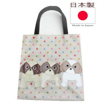 Cheap tote bags ladies small gift bags vinyl coated bag dog pattern animal  pattern animal prints fd38caf2d0a7f