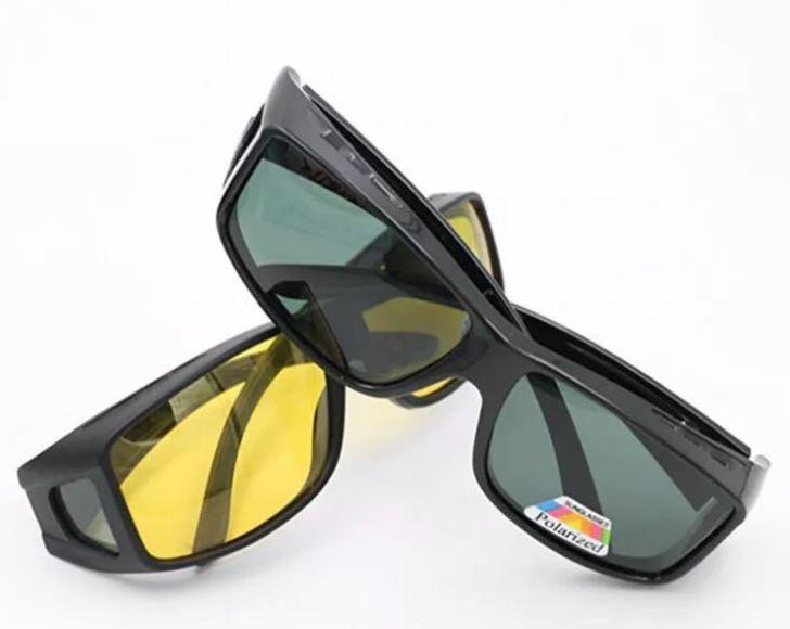 眼鏡の上からかけられるのでとっても便利な偏光サングラスです 送料無料 オーバーサングラス 偏光レンズ 紫外線対策 偏光 サングラス 眼鏡の上からかけられる 売買 メンズ レディース ナイトビュー 釣り 便利 黒 正規認証品 新規格 緑 おしゃれ ドライブ 運転 スポーツ