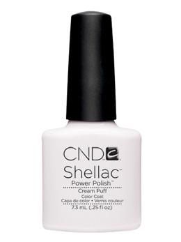 CND Shellac 未使用品 ブランド激安セール会場 UVカラーコート 501 7.3mL ジェルネイル クリームパフ ネイル用品