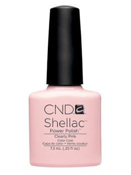 CND Shellac UVカラーコート 高価値 523 ブランド買うならブランドオフ ジェルネイル クリアリーピンク ネイル用品 7.3mL