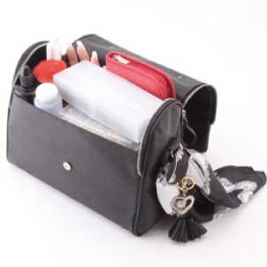 整理や外出時にも便利なネイルバッグHistory ショルダーバッグM ブラック SM,B 【ネイルバッグ/ネイルポーチ/収納/ネイルサロン備品/ネイル 用品】
