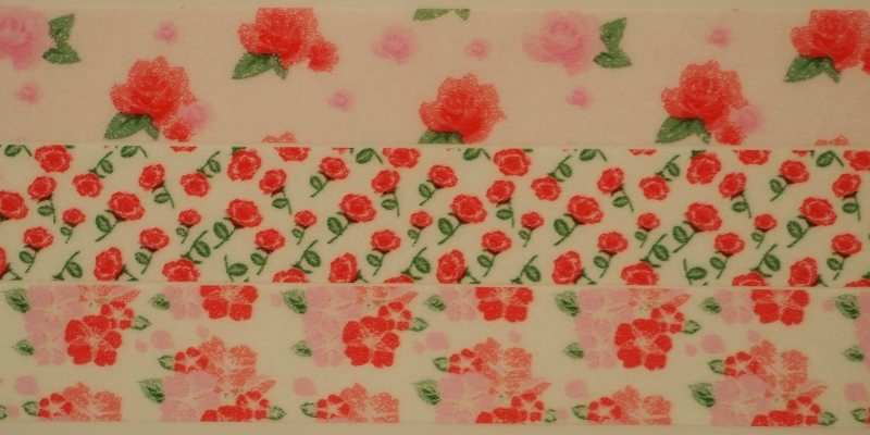 <title>色鮮やかなモチーフが かわいく飾りたい女性の感性に轟く deco シリーズ華やかなアクセントになるマスキングテープです 物品 リンレイテープRinkdecoシリーズ flower ROSE pink 3個組 マスキングテープ ピンクローズ</title>