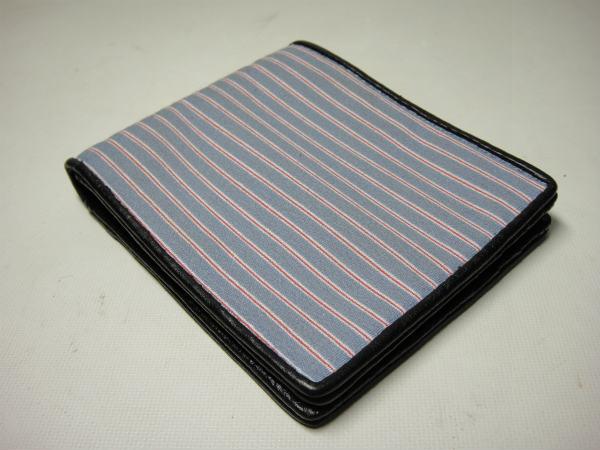 JACK SPADE ジャックスペード Narrow Stripe Bill Holder Wallet 財布 (Blue)