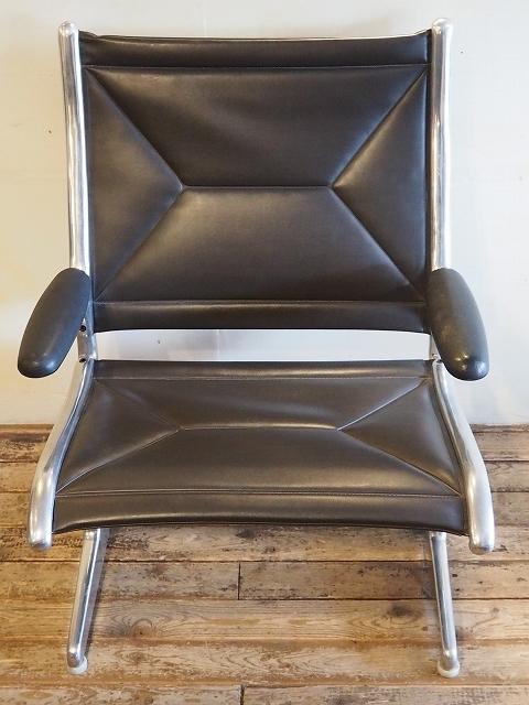 Herman Miller ハーマンミラー社Tandem Sling Seating/Eames タンデムスリングシーティング1座/イームズ (Dark 褐色)