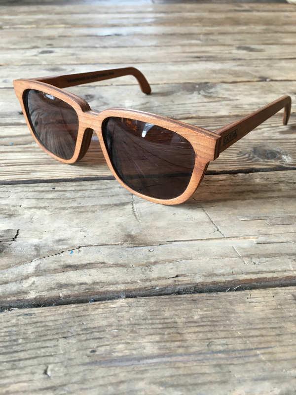 CAPITAL キャピタル Eye Wear Sunglass ウッドフレーム アイウェアサングラス木製サングラス木のサングラス (Bonnie/Clyde/Cherry)