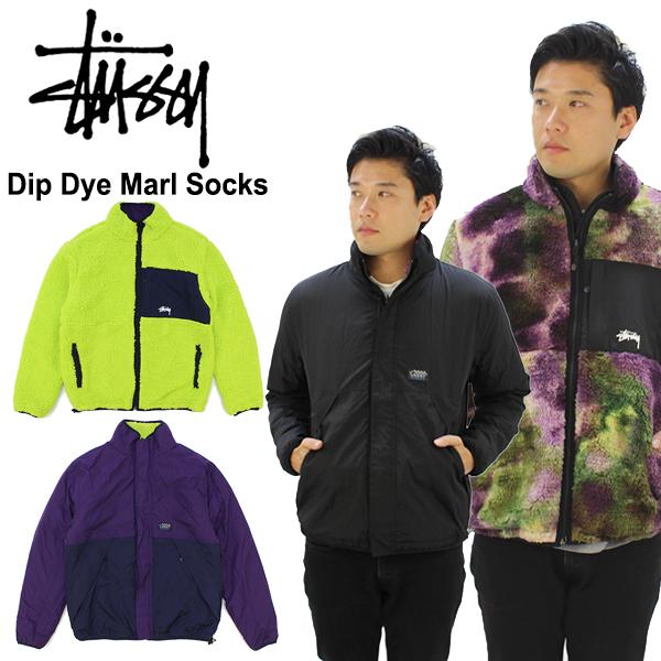 【送料無料】ステューシー(STUSSY)Reversible Micro Fleece Jacket フリース /アウター/メンズ/男性用【22】[CC]