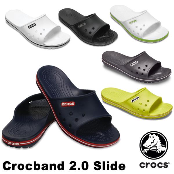 クロックス(CROCS) クロックバンド 2.0 スライド(crocband 2.0 slide) メンズ/レディース サンダル【男女兼用】【17】[AA]