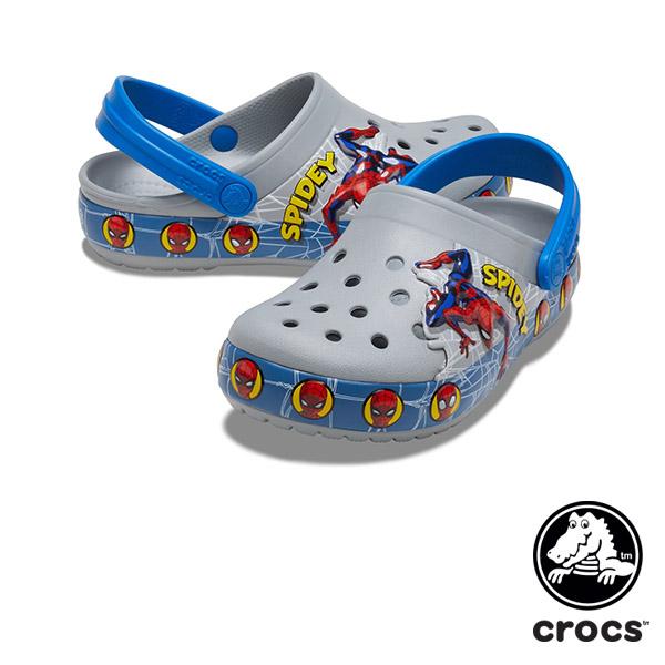 クロックス(CROCS) クロックス ファン ラブ スパイダーマン ライツ クロッグ キッズ(crocs fun lab Spiderman lights clog kids)サンダル【ベビー  キッズ 子供用】 [AA]【10】