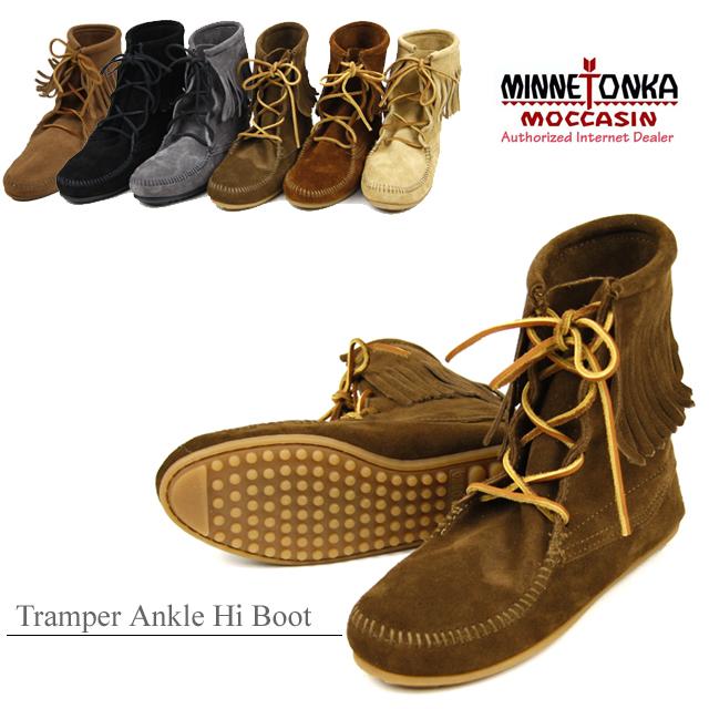 MINNETONKA Tramper Ankle Hi Boot Minnetonka tramper アンクルハイ boots (422-427 - 428 - 429-421 t)