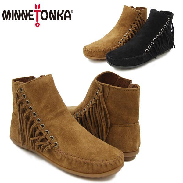【送料無料】ミネトンカ(MINNETONKA) ウィロー ブーツ(Willow Boot) レディース/ウィメンズ用 モカシン シューズ【楽ギフ_包装選択】【11】[BB]