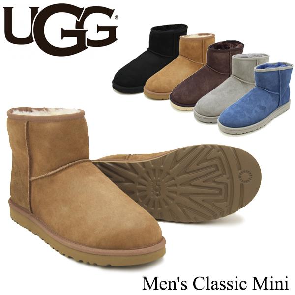 【送料無料】【正規品】アグ オーストラリア(UGG Australia) メンズ クラシックミニ(Men's Classic Mini)シープスキン ブーツ【楽ギフ_包装選択】【31】[DD]