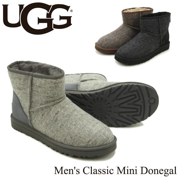 【送料無料】【正規品】アグ オーストラリア(UGG Australia) メンズ クラシック ミニ ドネガル(Men's Classic Mini Donegal)/ブーツ【楽ギフ_包装選択】【4】[CC]