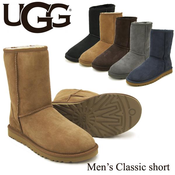 【送料無料】【正規品】アグ オーストラリア(UGG Australia) メンズ クラシック ショート(Men's Classic Short)シープスキン ブーツ【楽ギフ_包装選択】【34】[CC]