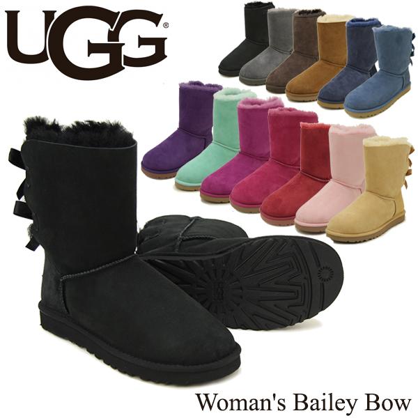 【送料無料】【正規品】アグ オーストラリア(UGG Australia) ウィメンズ ベイリー ボウ (Woman's Bailey Bow)シープスキンブーツ/ムートンブーツ【楽ギフ_包装選択】【27】[CC]