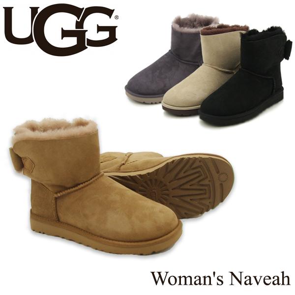 【送料無料】【正規品】アグ オーストラリア(UGG Australia) ウィメンズ ナベア(Woman's Naveah) シープスキンブーツ/ムートンブーツ【楽ギフ_包装選択】【8】[CC]