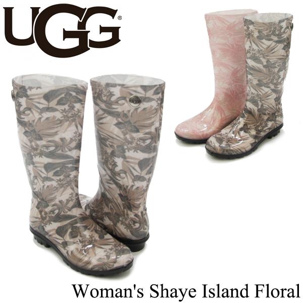 【送料無料】【正規品】アグ オーストラリア(UGG Australia) ウィメンズ シェイ アイランド フローラル(Woman's Shaye Island Floral) レインブーツ/長靴[CC]