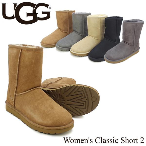 アグ オーストラリア(UGG Australia) ウィメンズ クラシック ショート 2(Women's Classic Short 2)/ムートンブーツ【20】 送料無料 正規品 [CC]