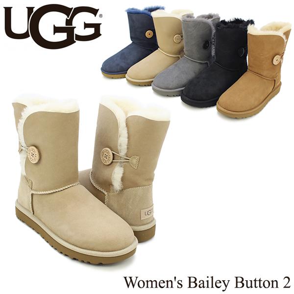 【送料無料】【正規品】アグ オーストラリア(UGG Australia) ウィメンズ ベイリー ボタン 2(Women's Bailey Button 2)/ムートンブーツ/【楽ギフ_包装選択】[CC]