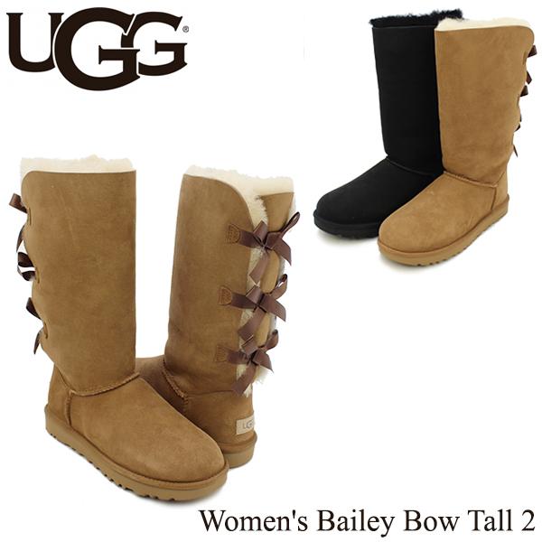 【送料無料】【正規品】アグ オーストラリア(UGG Australia) ウィメンズ ベイリー ボウ トール 2(Women's Bailey Bow Tall 2)/ムートンブーツ/【楽ギフ_包装選択】[CC]