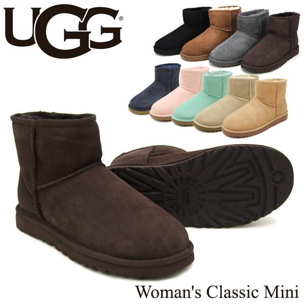 【送料無料】【正規品】アグ オーストラリア(UGG Australia) ウィメンズ クラシック ミニ(Woman's Classic Mini)シープスキン ブーツ【楽ギフ_包装選択】【25】[CC]