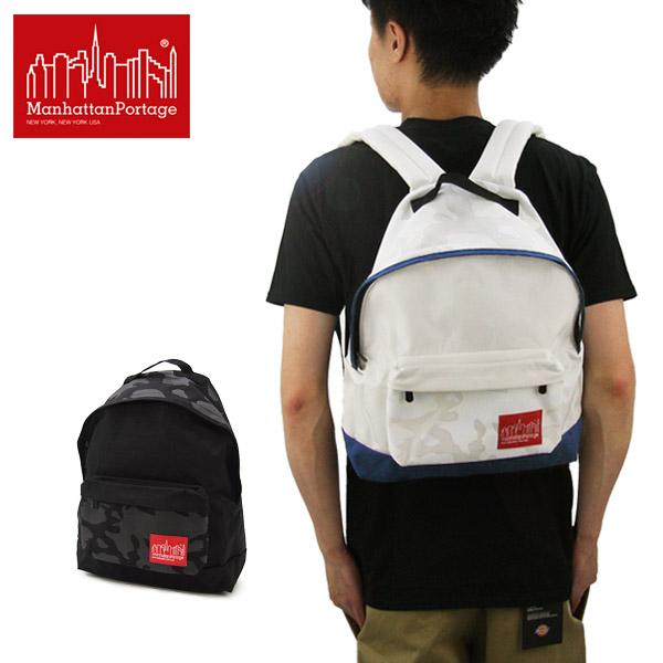 【送料無料】【国内正規品】マンハッタン ポーテージ(Manhattan Portage) Camo Print Big Apple Backpack(MP1209TNL) バックパック≪M≫ リュックサック/デイバッグ/かばん【楽ギフ_包装選択】[DD]