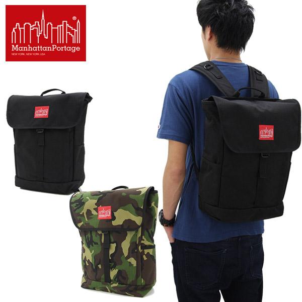 【送料無料】【国内正規品】マンハッタン ポーテージ(Manhattan Portage) Washington SQ Backpack(MP1220) バックパック≪M≫ リュックサック/かばん/デイバッグ【楽ギフ_包装選択】[DD]