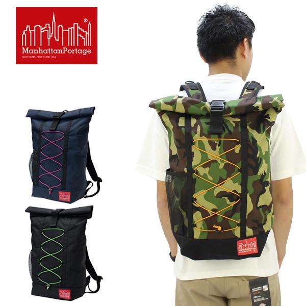 【送料無料】【国内正規品】マンハッタン ポーテージ(Manhattan Portage)BUNGEE Hillside Backpack(MP1253BUNGEE) バックパック≪M≫ リュックサック/かばん/デイバッグ【楽ギフ_包装選択】[DD]