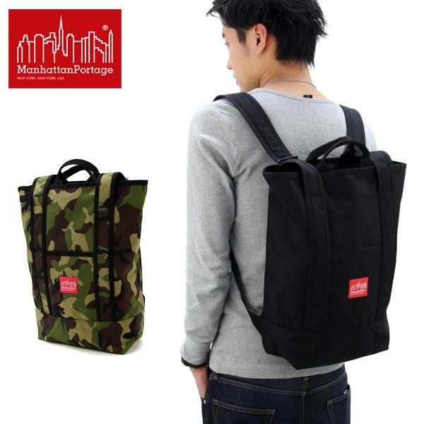 【送料無料】【国内正規品】マンハッタン ポーテージ(Manhattan Portage) Riverside Backpack(MP1318) バックパック≪M≫ リュックサック/かばん/デイバッグ【楽ギフ_包装選択】[DD]