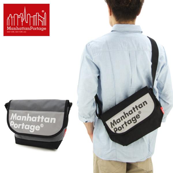 【送料無料】【国内正規品】マンハッタン ポーテージ(Manhattan Portage) Logo on Reflector Casual Messenger Bag(MP1605JRREFL)メッセンジャーバッグ≪S≫ ショルダーバッグ【楽ギフ_包装選択】[BB]