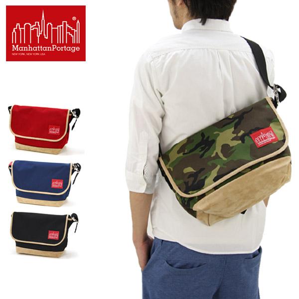 【送料無料】【国内正規品】マンハッタン ポーテージ(Manhattan Portage) Suede Fabric Vintage Messenger Bag(MP1606VJRSD13) メッセンジャーバッグ≪M≫ ショルダーバッグ/ワンショルダー/スエード/肩掛け【楽ギフ_包装選択】[DD]