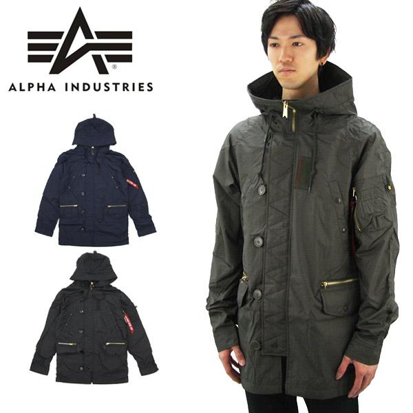 【送料無料】アルファ インダストリーズ(ALPHA INDUSTRIES) N-3B Ambrose Lightweight Parka ミリタリーコート/アウター/男性用/メンズ【楽ギフ_包装選択】【45】[BB]