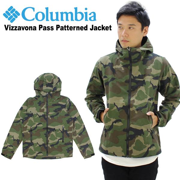 【送料無料】【国内正規品】コロンビア(Columbia) Vizzavona Pass Patterned Jacket(PM3361) メンズ ヴィサヴォナ パス パターンド ジャケット/アウター/マウンテンパーカー 【楽ギフ_包装選択】[BB]