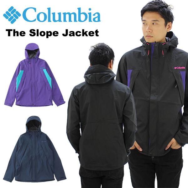 【送料無料】【国内正規品】コロンビア(Columbia)The Slope Jacket(PM3377) ザ スロープジャケット メンズ/アウター/レインウエア 【楽ギフ_包装選択】[BB]